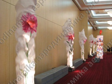 """Wedding paradise 2010"" exhibition decoration"