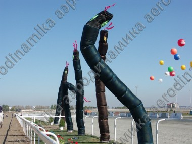 "Inflatable dancing tubes ""Dragon's head"""