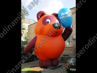 6 meters high inflatable Winnie-the-Pooh