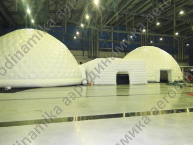 Inflatable domes complex