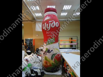 """Чудо йогурт"" yoghurt bottle inflatable copy"