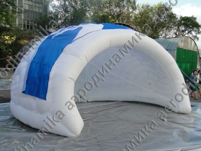 Volkswagen Ad inflatable shelter