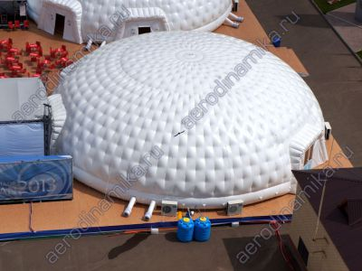 Inflatable domes for Kazan Universiade