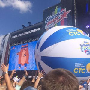 """СТС"" Ad inflatable ball"