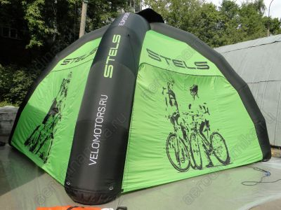 Stels promo inflatable tent