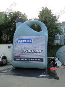 """AIMOL"" oil canister inflatable copy"