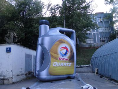 """Total"" oil canister inflatable copy"