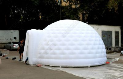 Inflatable dome of 5 meters in diameter