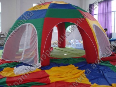 Kids inflatable tent