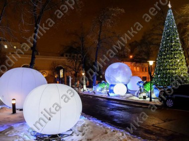 Christmas outdoors inflatable decor