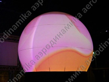 5 meters diameter inflatable sphere screen
