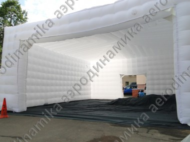 Inflatable cube tent 10×10×5 meters