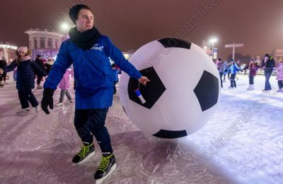 Soccer giant ball