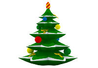 Christmas Tree Decorative