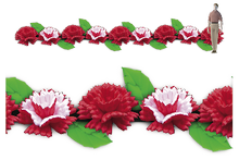Garland of Carnations