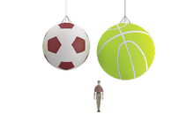 Suspended Sports Balloon